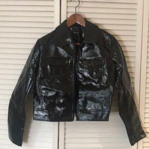 Jackets & Blazers - Liquid Leather Jacket